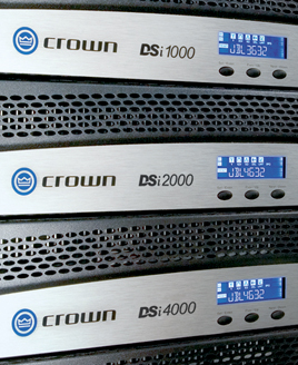 crown amps